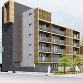 Construction de 33 logements « SOUS L'EGIDE » à Strasbourg - Groupe Ecade