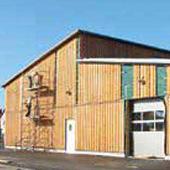 Construction d'un atelier municipal à Bergheim - Groupe Ecade