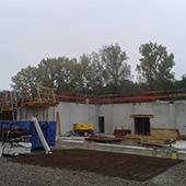 Construction des nouveaux ateliers municipaux à Soufflenheim - Groupe Ecade