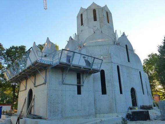 Construction d'une église orthodoxe russe et d'un foyer paroissial à Strasbourg - Groupe Ecade