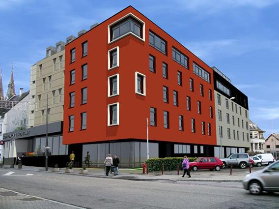 Construction et extension 61 chambres Hôtel d'Alsace Illkirch Graffenstaden - Groupe Ecade