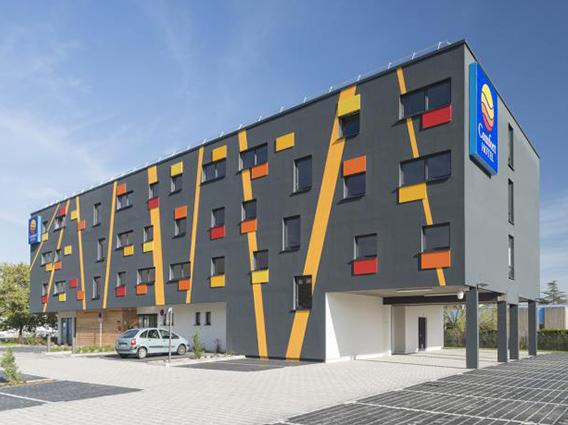 Construction d'un hôtel 63 chambres à Colmar - Groupe Ecade