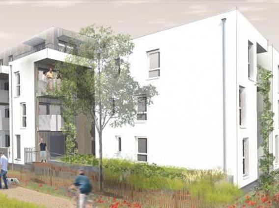 Construction de 13 logements locatifs PLUS et PLAI « L'ORIGINE DES SOURCES » à Mittelhausbergen - Groupe Ecade