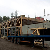 Création d'un bâtiment pour Floriom SPL à Issenheim - Groupe Ecade