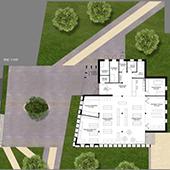 Création d'une bibliothèque et d'un parc communal à Bischoffsheim - Groupe Ecade