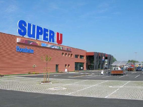 Extension d'un supermarché Super U à Hoenheim - Groupe Ecade