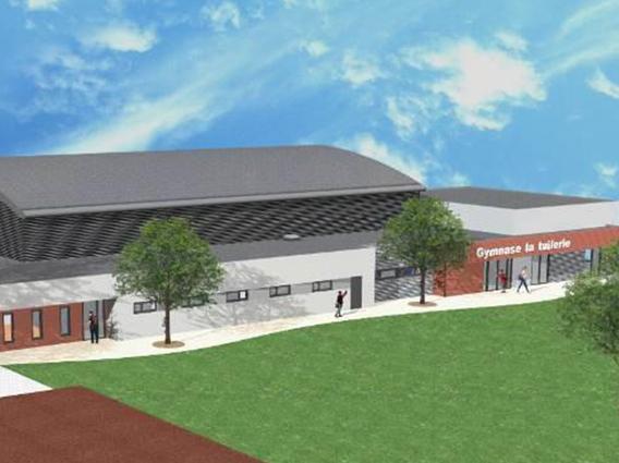 Construction d'un Gymnase à Eguisheim - Groupe Ecade