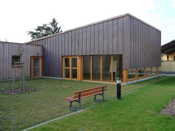 Construction d'une bibliothèque communale à Eschau - Groupe Ecade