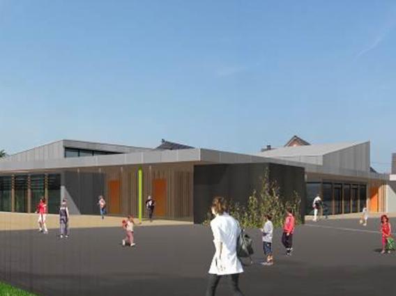 Construction d'un groupe scolaire de 2 classes à Scheibenhard - Groupe Ecade