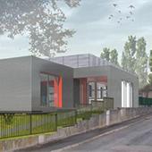 Extension de la demi-pension du Collège Pelt à Hettange-Grande - Groupe Ecade