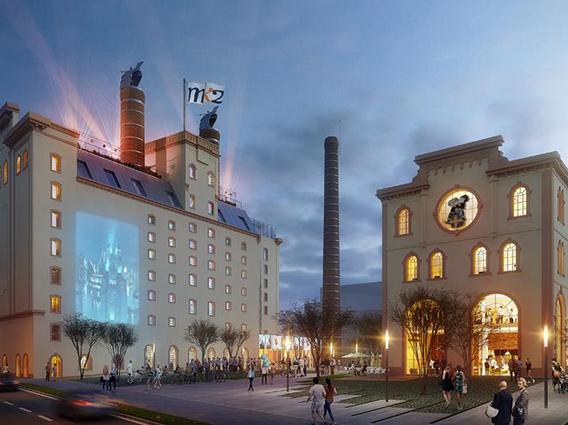 Reconversion de la Malterie et du Palais Fischer Création d'un complexe cinéma et activités connectées à Schiltigheim - Groupe Ecade