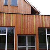 Réhabilitation d'un périscolaire, d'un accueil pour personnes âgées et de logements à Zillisheim - Groupe Ecade