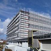 Restructuration du bâtiment externat du Lycée Louis Lapicque à Epinal - Groupe Ecade