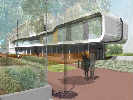 Restructuration et extension du Collège Paul Verlaine à Maizières-les-Metz - Groupe Ecade