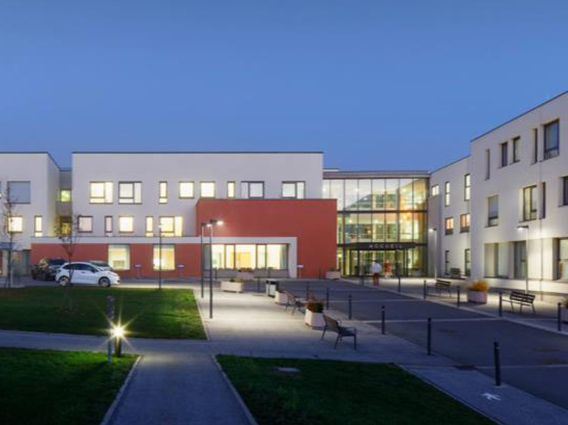 Restructuration et extension de l'Hôpital local de Chatel sur Moselle - Groupe Ecade