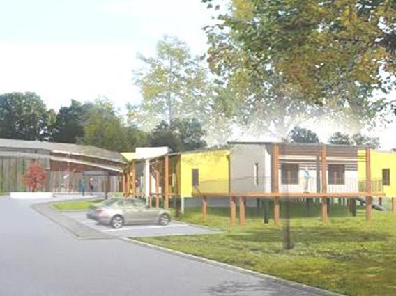 Restructuration et extension de l'hôpital local de Benfeld Construction d'un EHPAD de 55 lits - Groupe Ecade